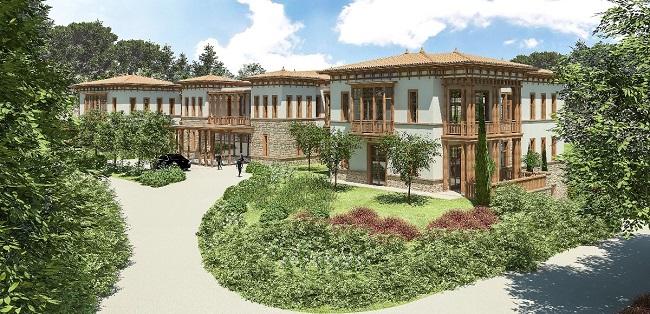 Erdoğan'ın Marmaris'e yaptırdığı Yazlık Sarayı'nın fotoğrafları ortaya çıktı!