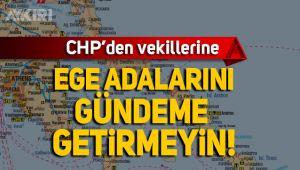 CHP'den Ege Adaları kararı: