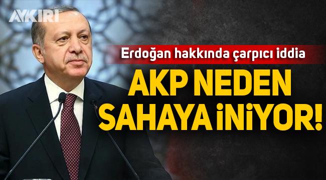 Erdoğan neden sahaya iniyor?