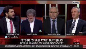 AKP'li Ayvalı'dan 'FETÖ'yle birlikte yol aldık' itirafı