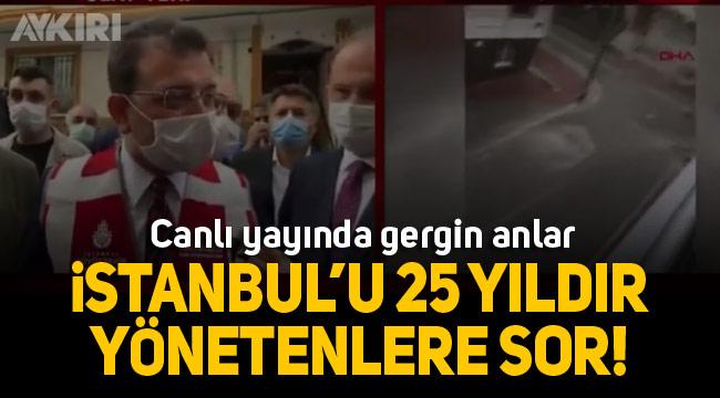 CNN Türk canlı yayınında Ekrem İmamoğlu'nu kızdıran soru