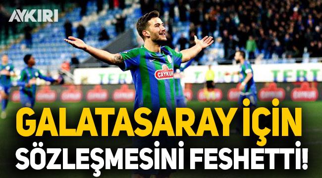 Oğulcan Çağlayan Galatasaray için sözleşmesini feshetti!