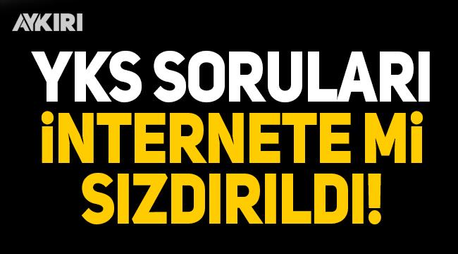 Skandal iddia! YKS soruları internete mi sızdırıldı?