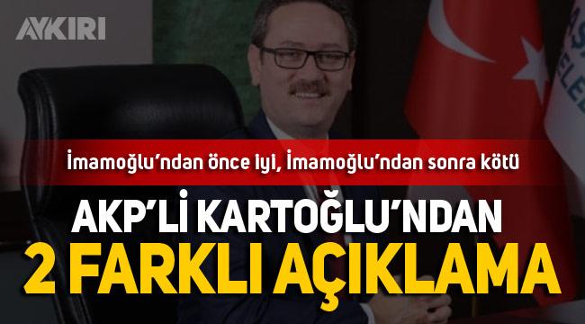 AKP'li Yasin Kartoğlu'ndan çelişkili açıklamalar