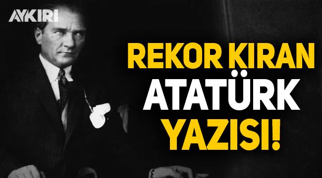 Atatürk'e lanet okuyan Erbaş'a Yılmaz Özdil'den sert tepki