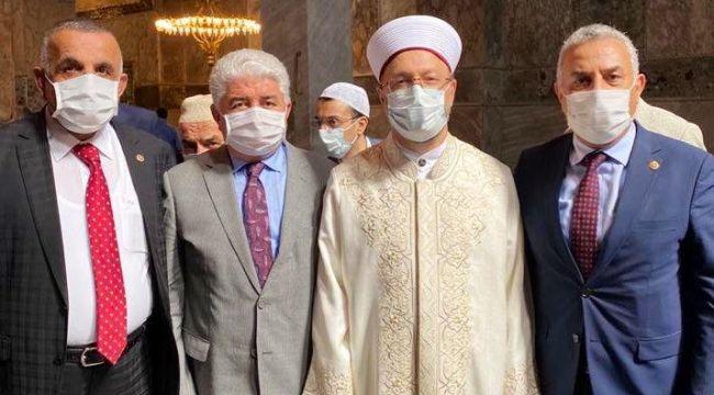 Ayasofya'nın açılışına katılan AK Partili vekil koronavirüse yakalandı iddiası