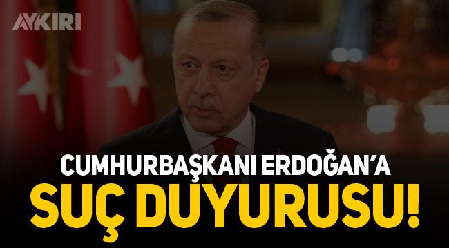 Ayasofya sözlerinden dolayı Cumhurbaşkanı Erdoğan'a suç duyurusu