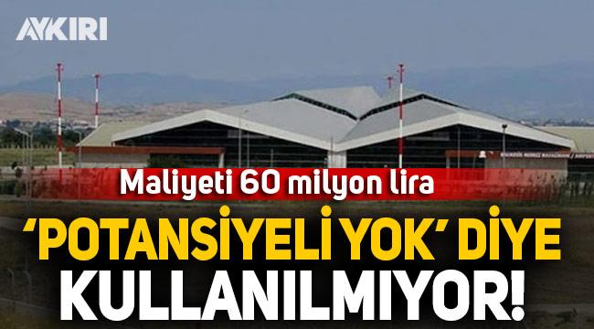 Balıkesir'in ikinci havalimanı 'potansiyeli yok' diye kullanılmıyor