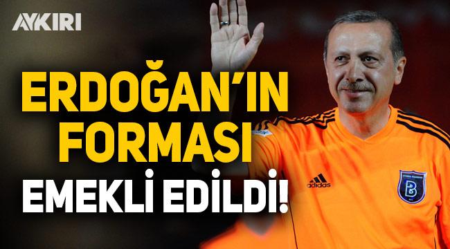 Başakşehir'de Erdoğan'ın 12 numarası emekli edildi