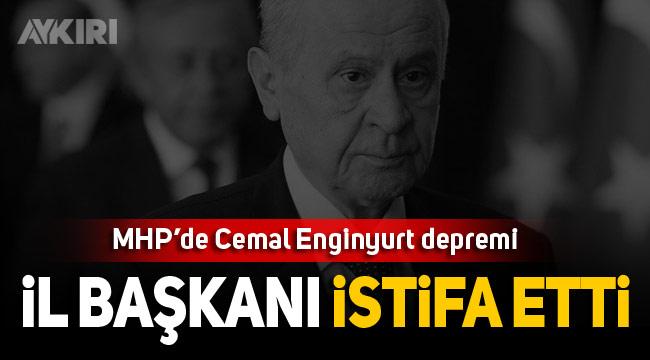 Cemal Enginyurt'un ihraç istemi MHP'de istifa getirdi