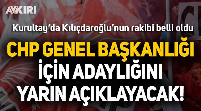 CHP'de İlhan Cihaner genel başkanlığa aday olacak!