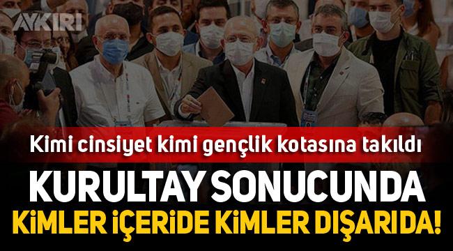 CHP'de PM ve Disiplin Kurulu üyeleri belli oldu