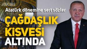 Erdoğan'ın Ayasofya konuşmasında Atatürk dönemine ağır eleştiri