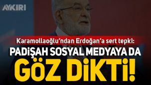 Karamollaoğlu'ndan Erdoğan'a sosyal medya tepkisi