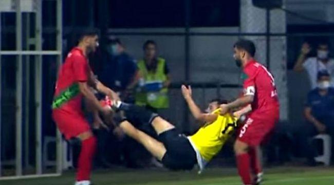 Karşıyaka - Turgutluspor maçında geceye damga vuran olay!