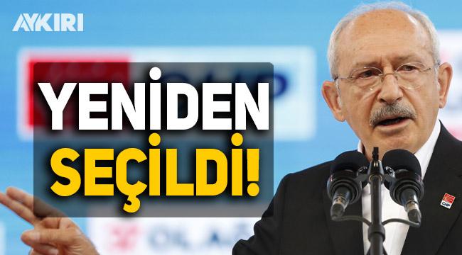 Kemal Kılıçdaroğlu yeniden seçildi!