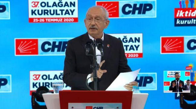Kılıçdaroğlu Kurultay'da 'İktidar Manifestosu'nu açıkladı