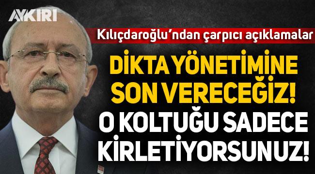 Kılıçdaroğlu'ndan Erbaş, iktidar ve eğitim sistemi açıklaması