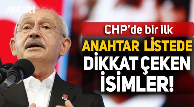 Kılıçdaroğlu'nun anahtar listesinde dikkat çeken isimler