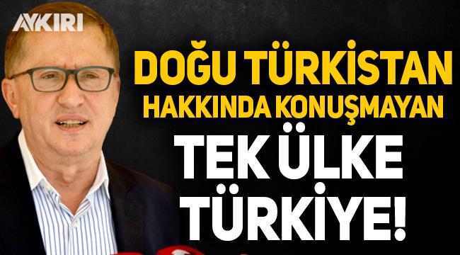 """Lütfü Türkkan'dan Doğu Türkistan çıkışı: """"Neden susuyorsunuz"""""""