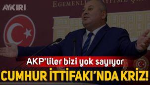 MHP'li Cemal Enginyurt: AK Partililer bizi yok sayıyor