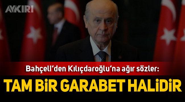 MHP Lideri Bahçeli, Kemal Kılıçdaroğlu'na sert sözlerle yüklendi