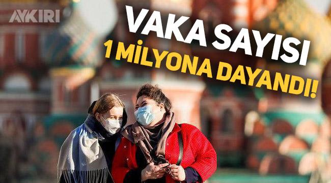 Rusya'da koronavirüs vaka sayısı 1 milyona yaklaştı
