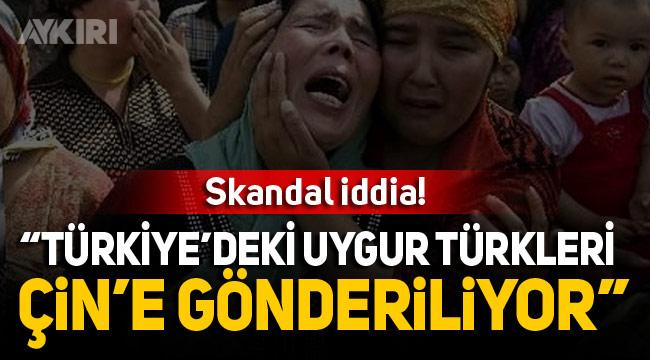 Türkiye hakkında Uygur Türklerini Çin'e gönderiyor iddiası