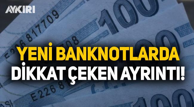 Yeni banknotların seri numaralarında dikkat çeken ayrıntı!