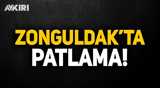 Zonguldak'ta şiddetli patlama