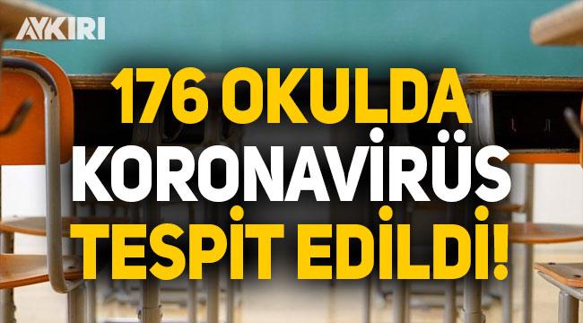 176 okulda koronavirüs tespit edildi