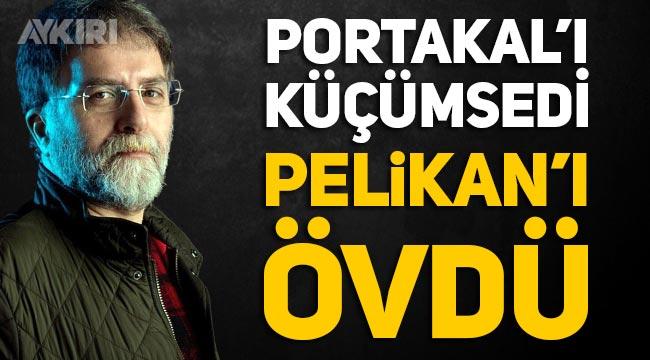 """Ahmet Hakan, Fatih Portakal'ı """"ahkam keserek başarılı oldu"""" diyerek eleştirirken, Pelikan'ın TRT ana haberi sunmasın övdü"""