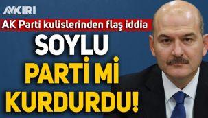 Ahmet Takan AK Parti kulislerinden iddiayı yazdı: Süleyman Soylu parti mi kurdurdu?