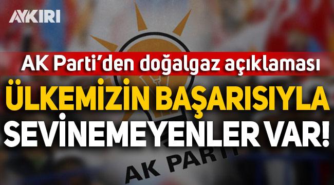 AK Parti Sözcüsü Çelik: Ülkemizin başarısıyla sevinemeyenler var