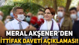 Meral Akşener, Cumhur İttifakı'nın davetiyle ilgili ilk kez konuştu