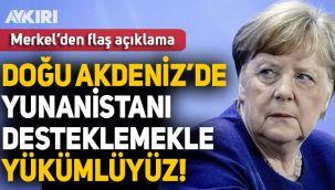 Almanya Başbakanı Merkel: Doğu Akdeniz'de Yunanistan'ı desteklemekle yükümlüyüz