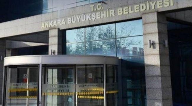 Ankara Büyükşehir Belediyesi'nden üzücü haber