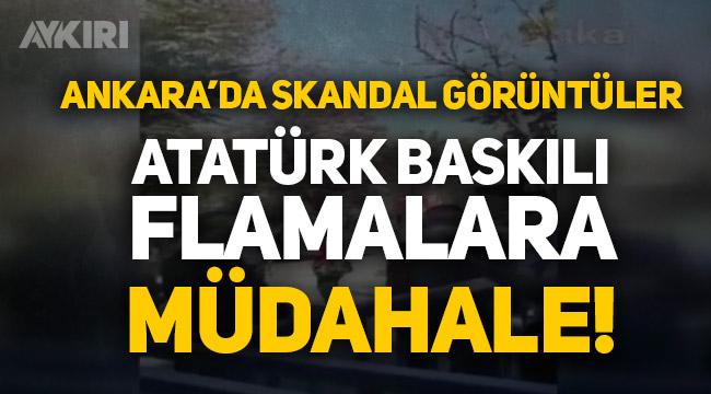 Ankara'daki 30 Ağustos törenlerine Atatürk baskılı flamalar alınmadı