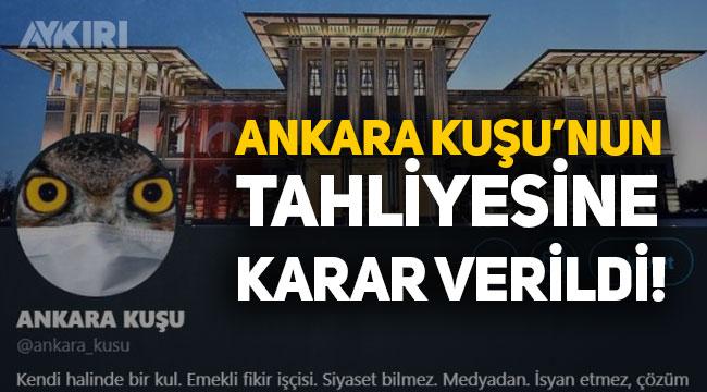 Ankara Kuşu Oktay Yaşar tahliye edildi!