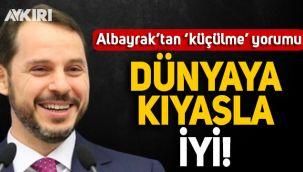Berat Albayrak'tan 'küçülme' açıklaması: Dünya ülkelerine oranla iyi