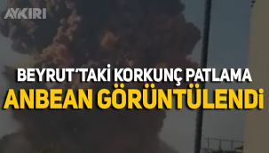 Beyrut'ta meydana gelen korkunç patlama