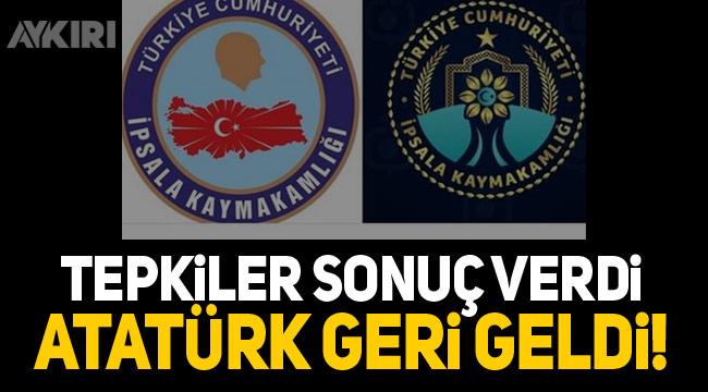CHP'nin Atatürksüz logoya verdiği tepki sonuç verdi