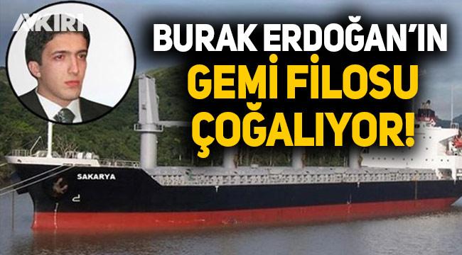 """Cumhurbaşkanı Erdoğan'ın oğlu Burak Erdoğan'ın """"Gemicik"""" sözüyle gündem olan şirketinin gemi sayısı yükseliyor"""
