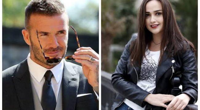 David Beckham, Türk oyuncunun Instagram paylaşımını izledi