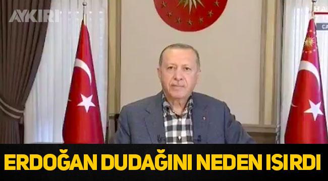 Promter bozulunca Erdoğan'ın canlı yayında neler yaşandı
