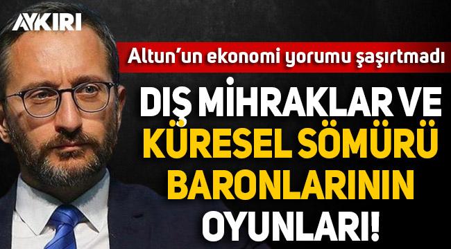 Fahrettin Altun: Türkiye'nin yükselişi, dış mihrakların oyunlarıyla kesilmek istenmektedir