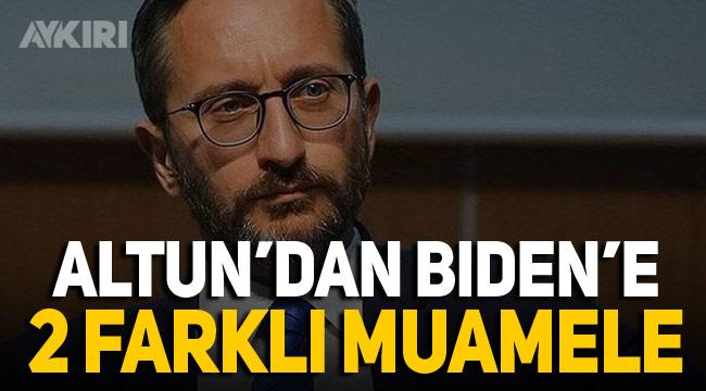 Fahrettin Altun'un Biden'e attığı Türkçe ve İngilizce tweetler farklı anlamlar taşıyor
