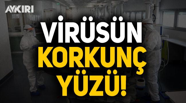 Fahrettin Koca, virüsün korkunç yüzünü paylaştı