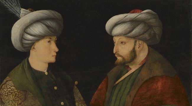 Fatih Sultan Mehmet'in portresi İstanbul'da!
