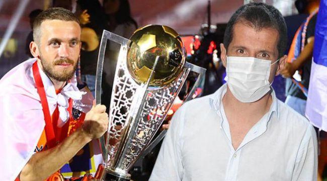 Fenerbahçe'de Emre Belözoğlu, Visca ile görüştü